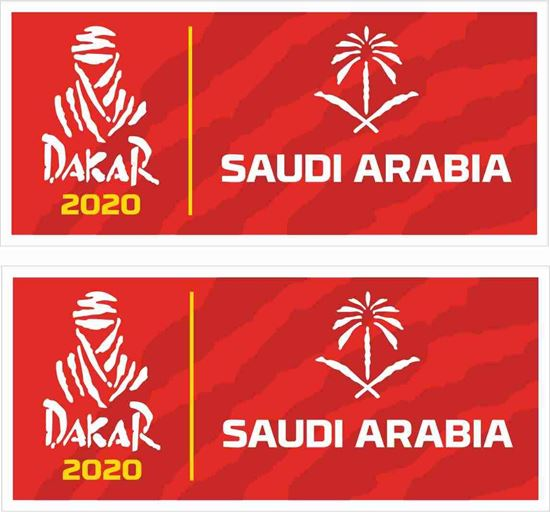 Picture of Dakar 2020 Decals / Stickers