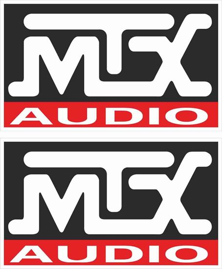 Picture of MTX Audio Decals / Stickers