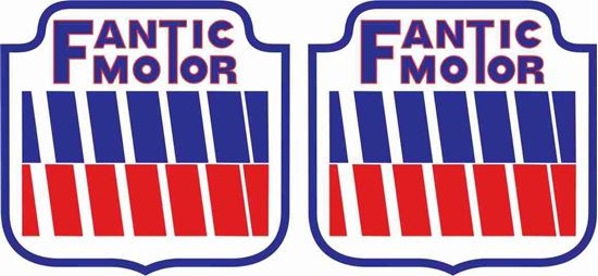 Picture of Fantic Motor Decals / Stickers