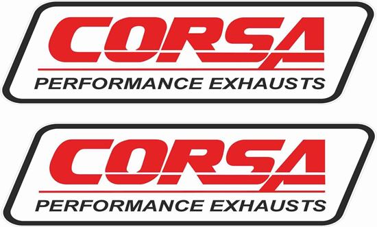 Picture of Corsa Performance Exhausts Decals / Stickers