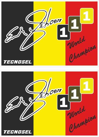 Picture of Eric Gebores Decals / Stickers