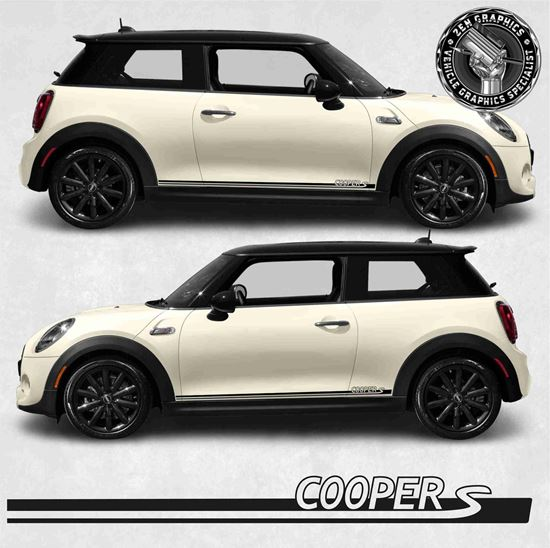Picture of Mini Hatchback Cooper S side Stripes