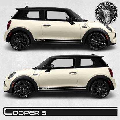 Picture of Mini Hatchback Cooper S side Stripes