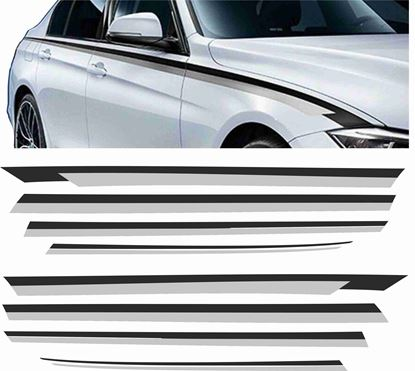 Picture of BMW 5 Series F10 / F11 side Stripes / Stickers