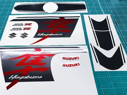 Picture of Suzuki GSX 1340R Hayabusa 2018 Custom replacement Decals / Stickers