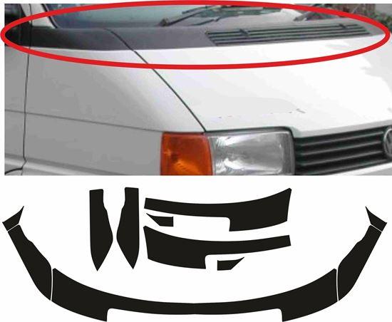 Picture of VW T4 Multivan / Eurovan / Allstar / Caravelle Bonnet Mudwing Vinyl