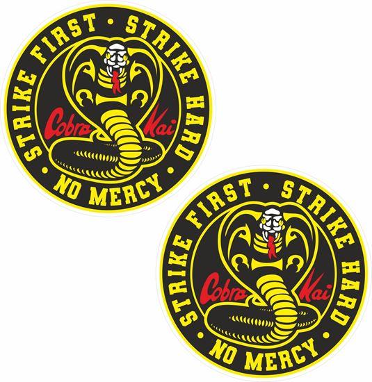 Picture of Cobra Kai Decals / Stickers
