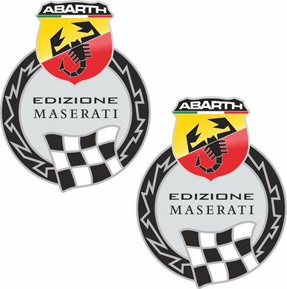 Picture of Fiat  Abarth Edizione Maserati Stickers / Decals