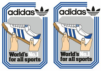 Picture of adidas originals Decals / Stickers