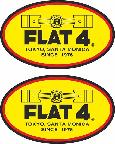 Picture of Flat 4 Decals / Stickers