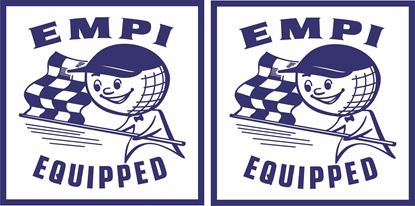 Picture of EMPI Equipped Decals / Stickers