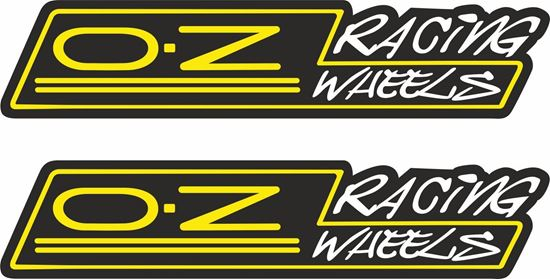 Picture of O.Z Racing Wheels Decals / Stickers