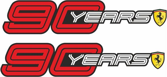 Picture of Ferrari 90 Years Decals / Stickers