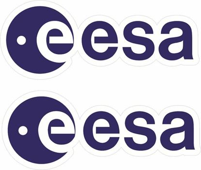 Picture of ESA European Space Agency Decals / Stickers