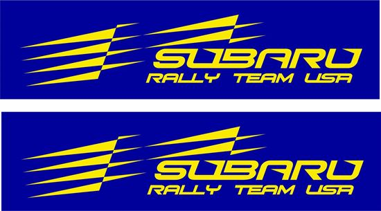 Picture of Subaru Rally Team USA Decals / Stickers
