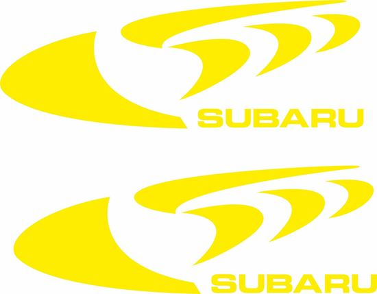 Picture of Subaru 555 Decals / Stickers