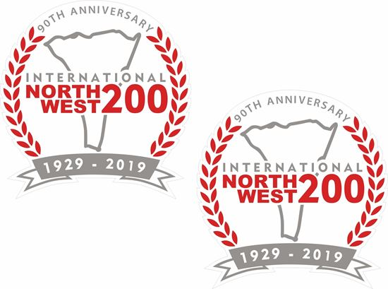 Picture of International North West 200 Decals / Stickers