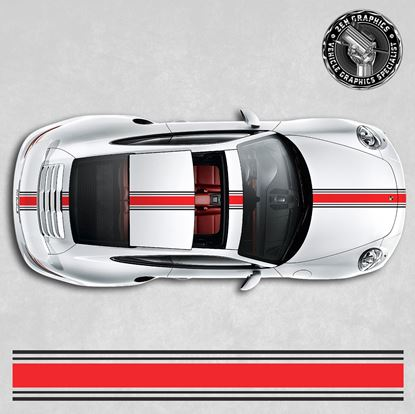 Picture of 992 / 991 over the top Stripes
