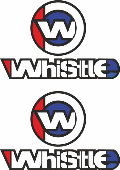 Picture of Whistle Decals / Stickers