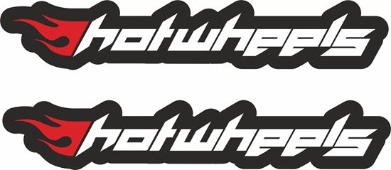 Picture of Hot Wheels Decals / Stickers