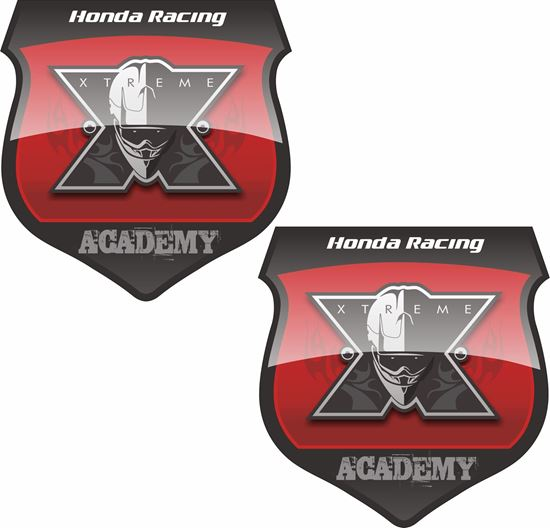 Picture of Honda Racing Academy Decals / Stickers