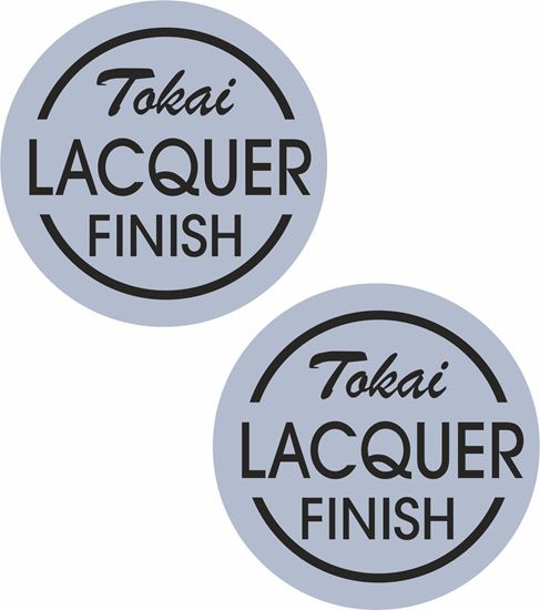 Picture of Tokai Lacquer Finish Guitar Decals / Stickers