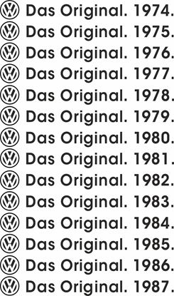 Picture of DAS Original. Decals / Stickers