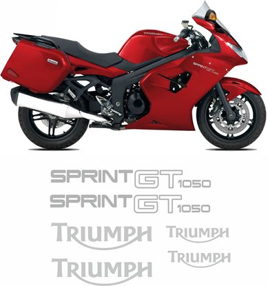 Picture of Triumph Sprint GT 1050 SE  2014 - 2015 replacement Decals / Stickers