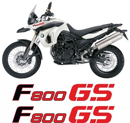 Picture of BMW F 800 GS 2012 Decals / Stickers