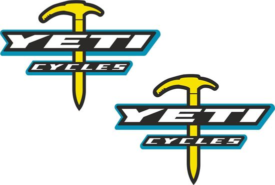 Picture of Yeti Cycles Decals / Stickers