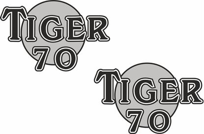 Picture of Triumph Tiger 70 Decals / Stickers