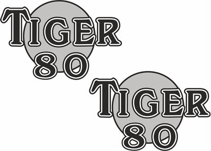 Picture of Triumph Tiger 80 Decals / Stickers