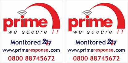 Picture of Prime Security Decals / Stickers