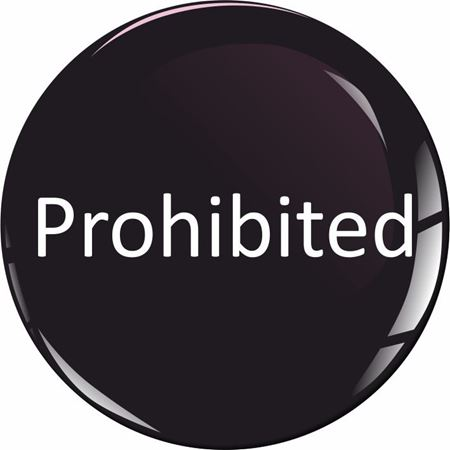 Picture for category Prohibited