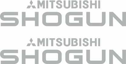 Picture of Mitsubishi Shogun  Decals / Stickers