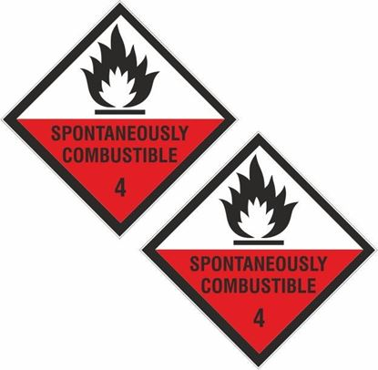 Picture of Spontaneously Combustible 4 Decals / Stickers