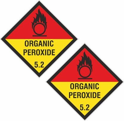 Picture of Organic Peroxide 5.2  Decals / Stickers