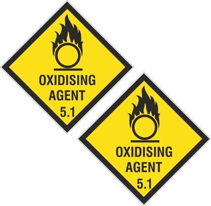 Picture of Oxidising Agent 5.1 Decals / Stickers