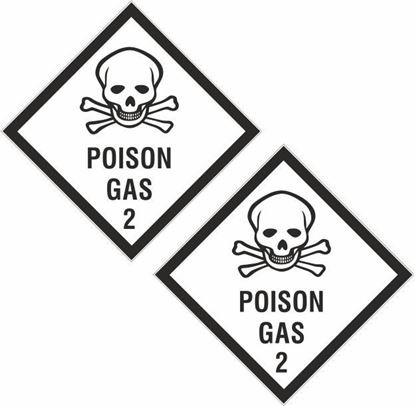 Picture of Poison Gas 2 Decals / Stickers