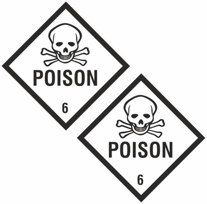 Picture of Poison 6 Decals / Stickers