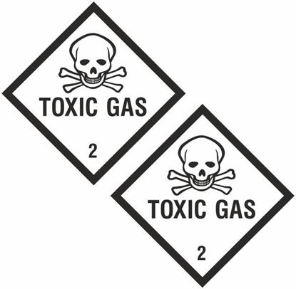 Picture of Toxic Gas 2 Decals / Stickers