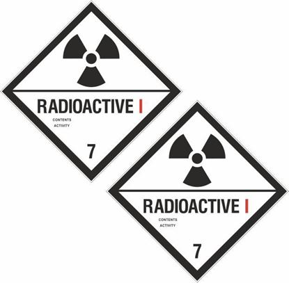Picture of Radioactive I  7 Decals / Stickers