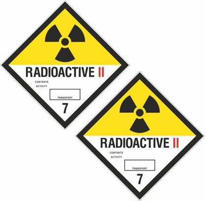 Picture of Radioactive II  7 Decals / Stickers