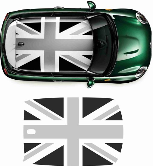Picture of Mini F56 Roof Union Jack graphic / Sticker