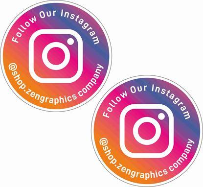 Picture of Instagram Decals / Stickers