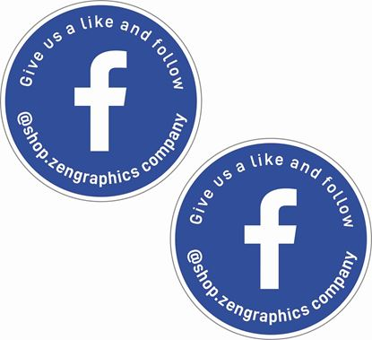 Picture of Facebook Decals / Stickers
