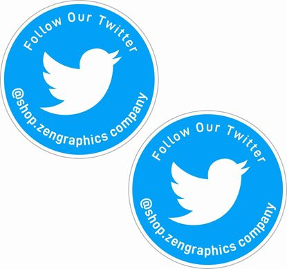 Picture of Twitter Decals / Stickers