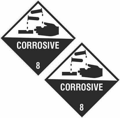 Picture of Corrosive 8 Decals / Stickers