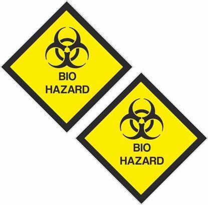 Picture of Bio Hazard Decals / Stickers