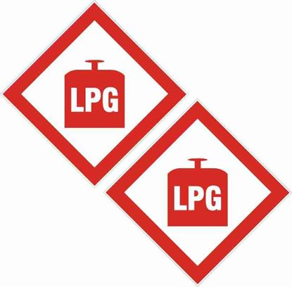 Picture of LPG Decals / Stickers